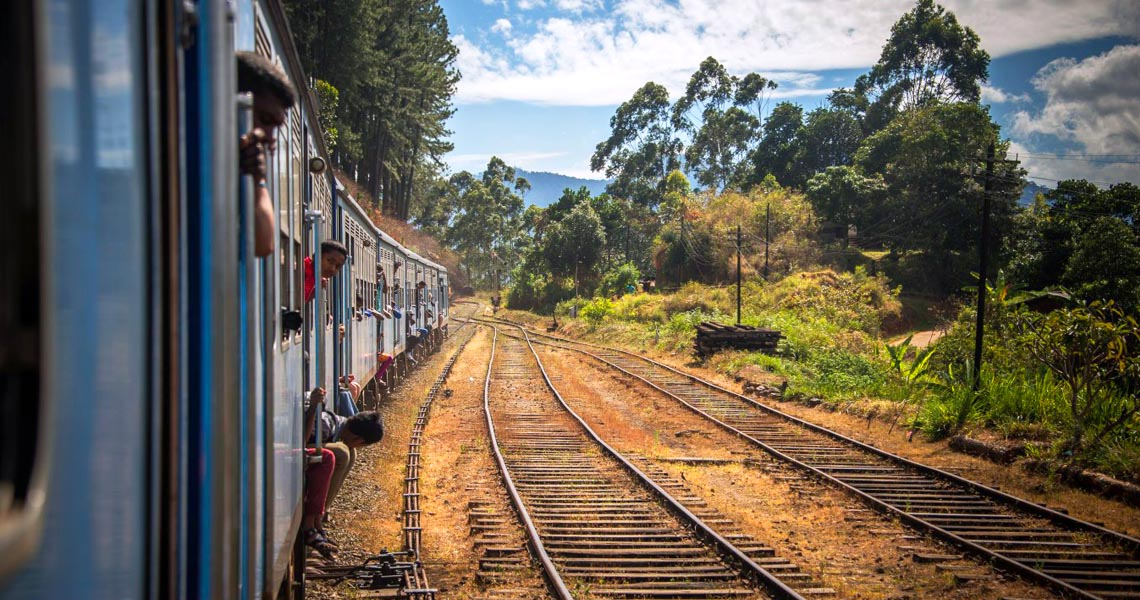 Train journey from Colombo to Badulla