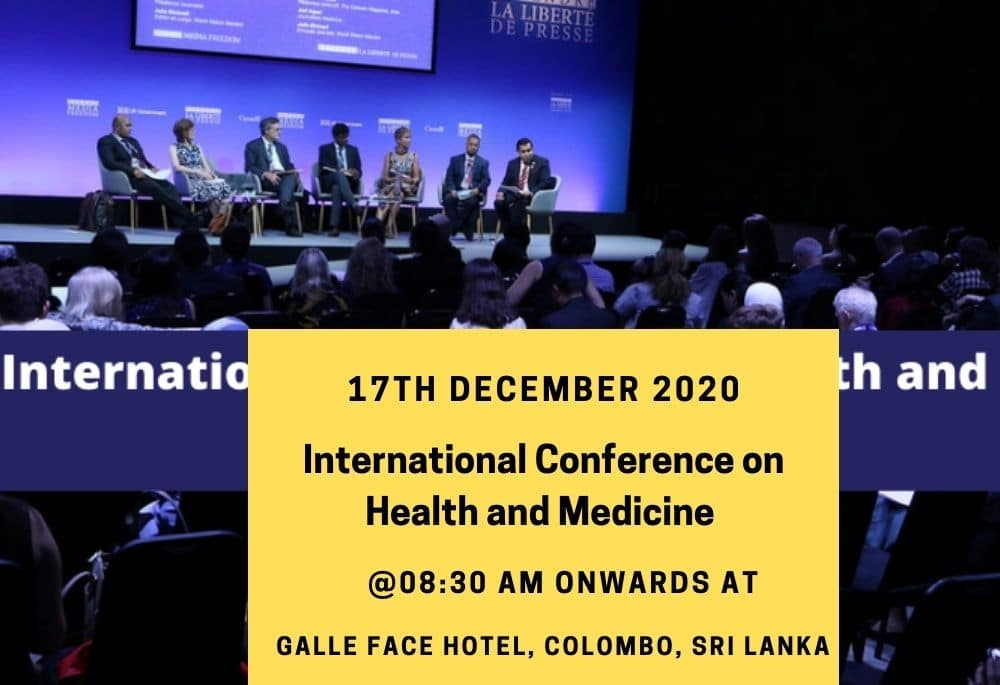 International Conference on Health and Medicine 2020